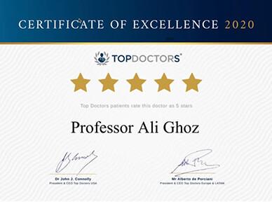 five start certificate top doctors